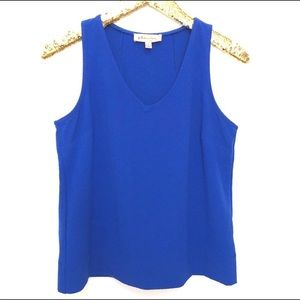 PHILOSOPHY ROYAL BLUE SLEVELESS TOP SIZE SMALL